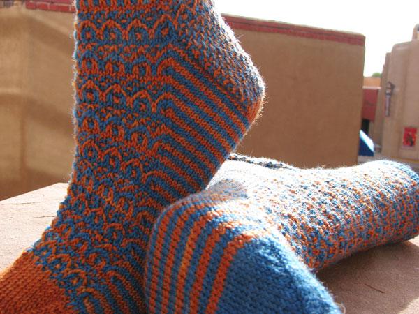 Cursive Socks
